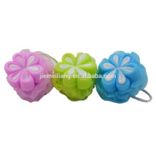 JML Best selling products cheap bath flower ball customize bath flower sponge ball for sales
