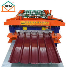 The marked roofing sheet making machine price is the selling price the 20 foot container saves freight
