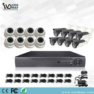 Kit Sistem DVR Keselamatan 4K 8MP CCTV