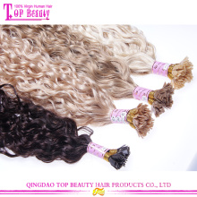 Nouveau venir indien vierge I/U/plat Astuce cheveux haute qualité en gros Astuce cheveux rallonge rabattable