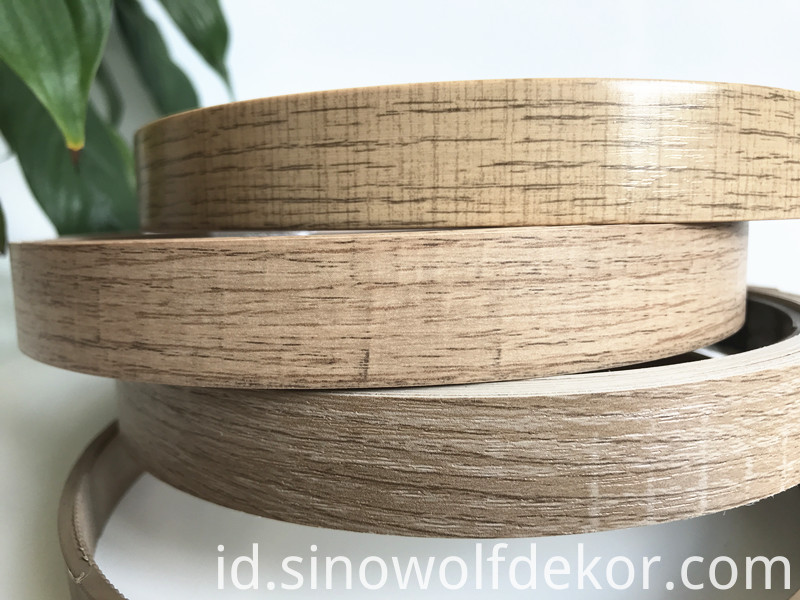 Environmental Protection ABS Woodgrain Edge Banding