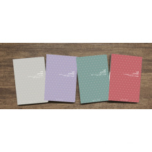 New Design of Life Attitude Fashion Notebook Hot Sale School Memo Pad