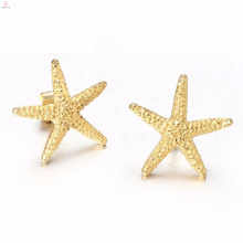 Wholesale Fashion Gold Necklace Star Earrings Ring Bracelet Jewelry