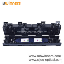 Inline Waterproof Fiber Optic Splice Closure Joint Box 24 Fibers