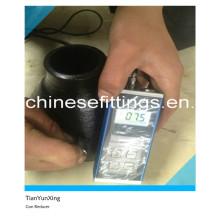 Raccords de tuyaux sans cosmétiques ASTM en acier au carbone