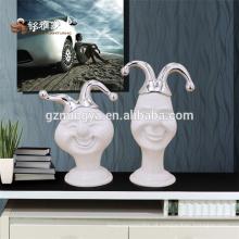 Ornamentos de resina personalizados para férias para decoração de casa de natal