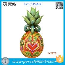 Custom Desk Decor Resin Pineapple Figurine