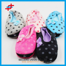 Colorful Kids Plush Indoor Slippers/Kid Fashion Winter Slippers Shoe