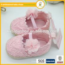 2015 самая продаваемая симпатичная и высококачественная ручная вязальная детская обувь для девочки