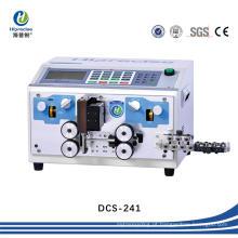 Equipamento de corte de cabo automático digital, corte de fio e máquina de tira