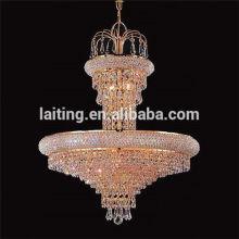 Industrial aluminum Asfour crystal chandelier pendant lamp 71036