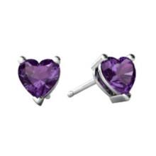 Pendiente púrpura 316L Joyería hecha a mano de la joyería del acero inoxidable