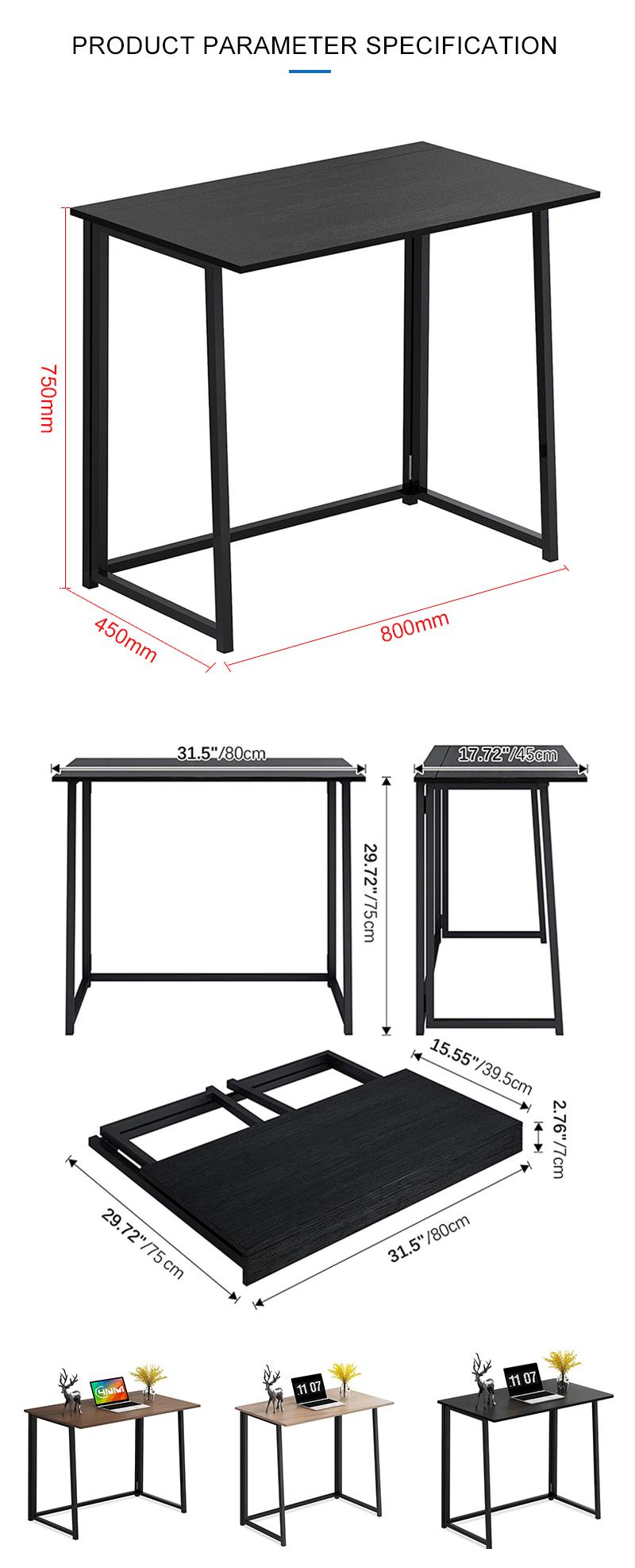Modern Industrial Folding Desk