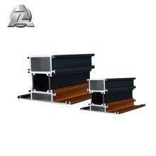 Souplesse de fabrication inégalée: montant de porte en aluminium anodisé 6063