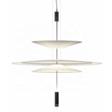Fashion Modern LED Simple Natural Clear Acrylic White Pendent Light
