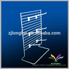 Porte-étagères en aluminium