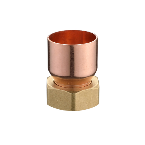 Brass Hex Nut with Copper Fitting J9103