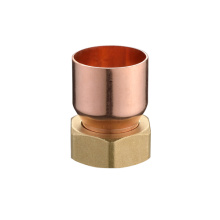 Brass Hex Nut with Copper Fitting