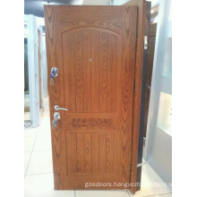 2014 New Design and High Quelity Steel Wood Armored Door