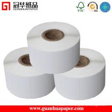 Etiqueta autoadhesiva de SGS, etiqueta termal, etiqueta del papel