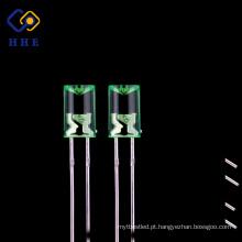 O preço razoável cancela o diodo conduzido côncavo 520nm verde de 5mm