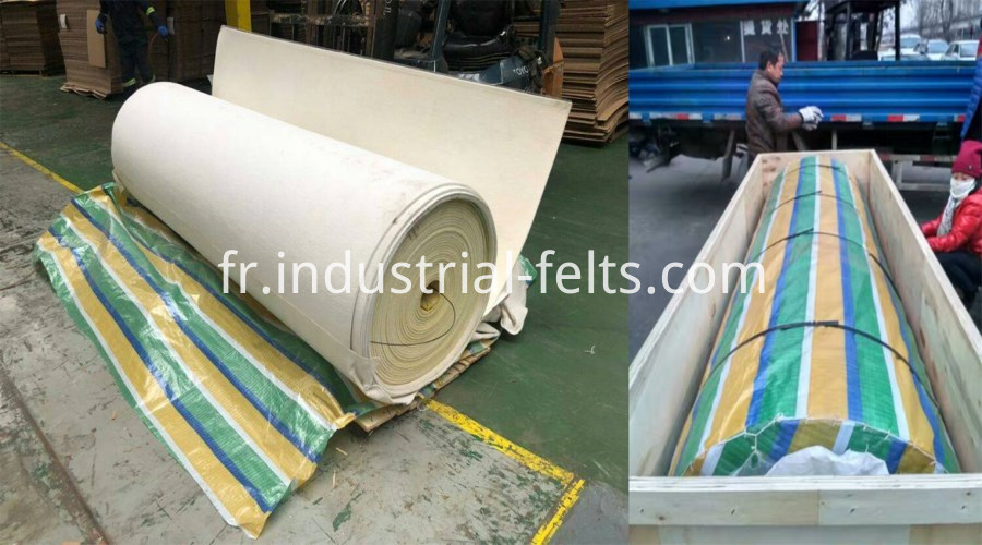 needle corrugated belt packing