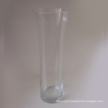Clear Glass Vase - 07gv02002