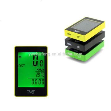Wireless Bicycle Cycle Computer 24 Functions Waterproof LCD Odometer Speedometer bike accessory