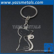 New custom metal key ring chain desgin