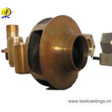 Piezas de la bomba de bronce y bronce personalizadas OEM