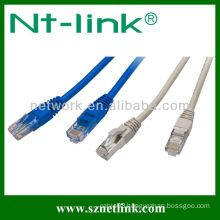 factory make Utp/ftp cat5e flat patch cord