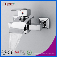 Fyeer Hot Sale Bathroom Waterfall Faucet con desviador