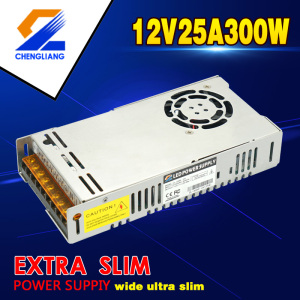 12V 25A 300W LED SMPS For LED Strip