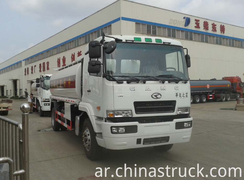 10CBM NaOH solution tank truck
