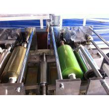 Línea de impresión de revestimiento UV de bandas de borde de PVC