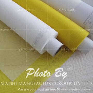 Malha da impressão de tela de seda do poliéster / pano de parafusamento para a impressão da tela