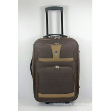 Cheap Shandong Silk EVA Outside Trolley Travel Luggage