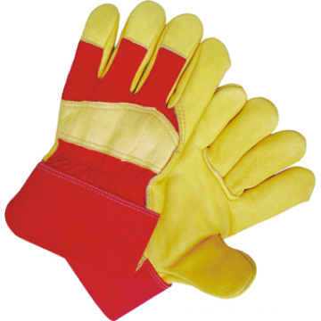 Golden Cow Grain Leather Full Palm Work Glove (3105)