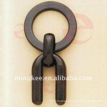 Accesorios de cadena de anillo negro (Q8-108A)
