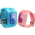 Mobile GPS Smart Watch Tracker for Kids with Watch Design, Phone Call, Sleeping Mode, Monitor (WT50-KW)