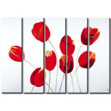 Красивые оригинальные созданные цветы