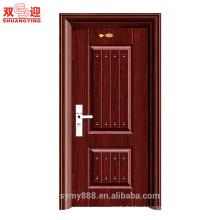 Porta de entrada de balanço de aço inoxidável de porta de segurança