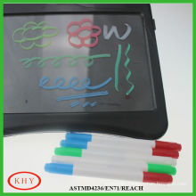 Stationery Set of Twin Felt Tips LED Board Markers for Promotion and Gift