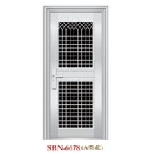 Puerta de acero inoxidable para sol exterior (SBN-6678)