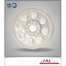 7.5x17 White Car Wheels Steel Wheel Rim with 6 Lug