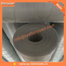 Malla de alambre de aluminio, pantalla de insectos de aluminio, red de insectos de aluminio hecho en china