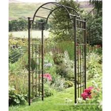 Высококачественная кованая железная арка для садовой мебели