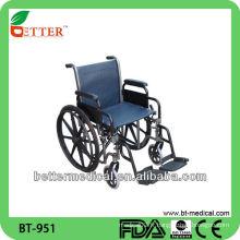 Chaise roulante en aluminium pliable