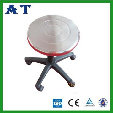 Plastik ayaklı paslanmaz çelik operasyonu tabure