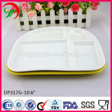 Cheap porcelain custom dinner plates,hotel porcelain dinner plates,Porcelain Fast Food Plate